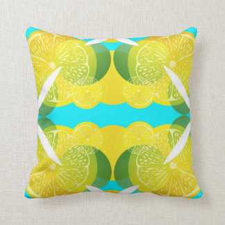 Really Lemon 🍋 Citrus Art Decor Throw pillow