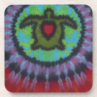Really Love Turtles Tie Dye Beverage Coaster