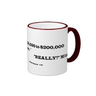 """Really?"" Mitt Ringer Coffee Mug"