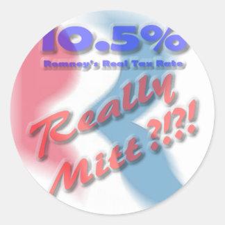 Really Mitt?!?! Round Sticker