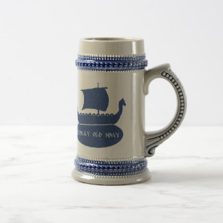 Really Old Navy Stein Coffee Mugs