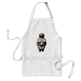 Really Old Women: Venus of Willendorf Adult Apron