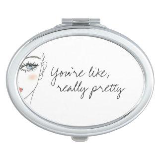 Really Pretty Compact Mirror