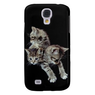 Really Really Cute Three Little Kittens Samsung Galaxy S4 Case