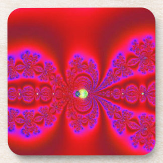 Really Red with Purple Highlights Coaster