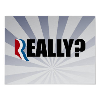 REALLY ROMNEY.png Poster