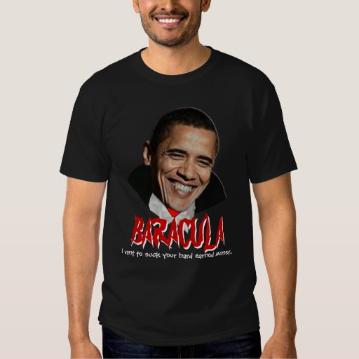 Really Scary Obama Halloween Shirt: Baracula T-Shirt