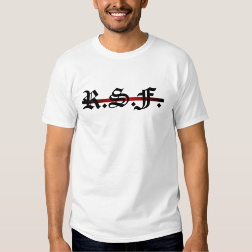 Really Stupid F. : R.S.F. Front logo for Hoody