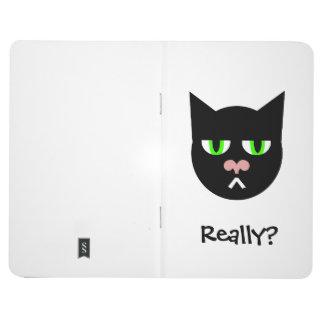 REALLY Three Black Cat Journal
