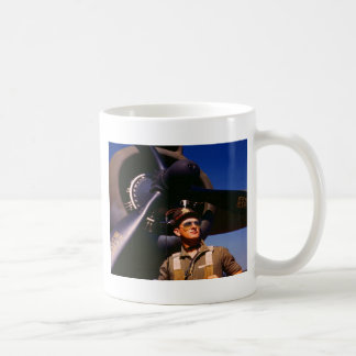 Really wonderful to come home Pilot and war plane Coffee Mug