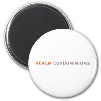 Realm Condominiums 2 Inch Round Magnet