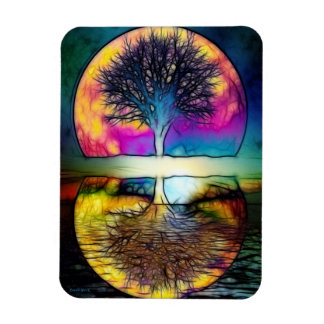 Realm of Divine Knowledge Rectangular Photo Magnet