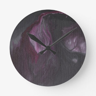 Realm of Faerie Rebirth Abstract Wall Clocks