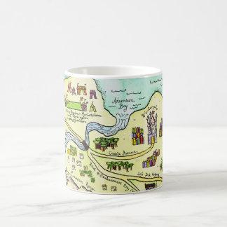 Realm of Good Cheer Map Coffee Mug