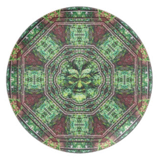 Realm of the Green Man Plate