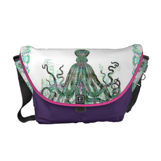 Realm Of The Octopus Customizable Courier Bag