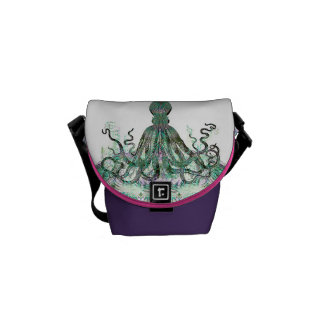Realm Of The Octopus Mini Messenger Bag
