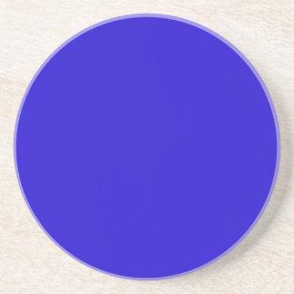 Realmente azul posavaso para bebida