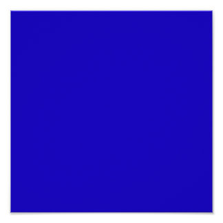 Realmente azul posters