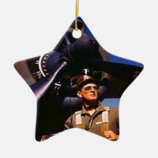 Realmente maravilloso venir el piloto casero y gue ornamento de navidad