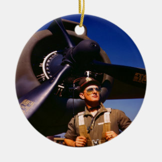 Realmente maravilloso venir el piloto casero y gue ornaments para arbol de navidad