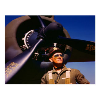 Realmente maravilloso venir el piloto casero y gue postal