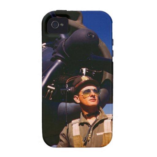 Realmente maravilloso venir el piloto casero y vibe iPhone 4 carcasa