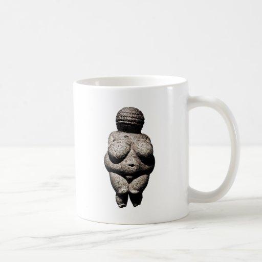 Realmente mujeres mayores: Venus de Willendorf Taza De Café
