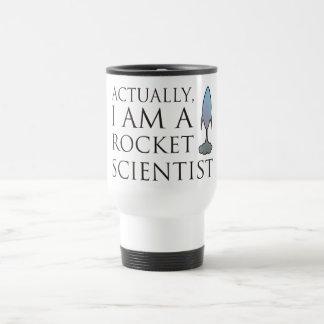 Realmente, soy científico del cohete taza de viaje