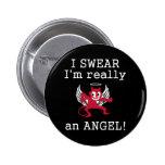 Realmente un botón del ángel pin
