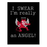 Realmente una postal del ángel, personalizar