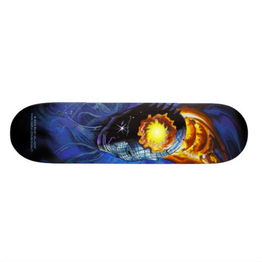 Realms of the Subconscious skateboard