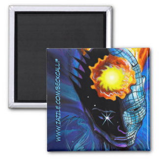 Realms of the Subconscious square magnet