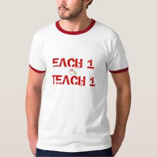 RealRasRevolutionsm, EACH 1TEACH 1 T-Shirt