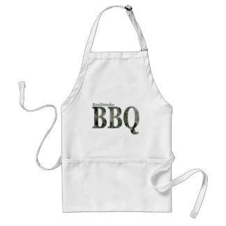 RealSmoke Camo for BBQ Fans Adult Apron