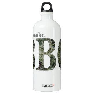 RealSmoke Camo for BBQ Fans Aluminum Water Bottle