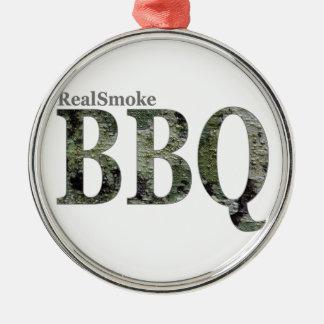RealSmoke Camo for BBQ Fans Metal Ornament