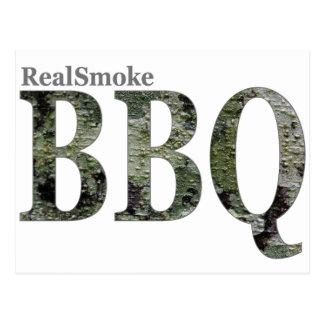 RealSmoke Camo for BBQ Fans Postcard