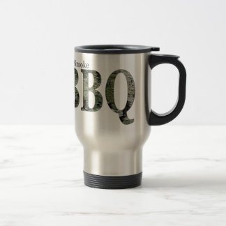 RealSmoke Camo for BBQ Fans Travel Mug