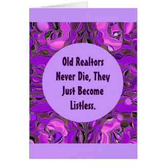 realtor greeting card