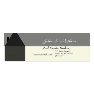 Realtor Mini-Card Business Card Template