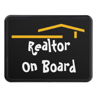 Realtor On Board Tow Hitch Cover