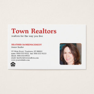Commercial real estate business cards templates zazzle realtor photo business card colourmoves