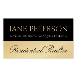 Realtor Real Estate Broker Agent Sales Script Business Card Template