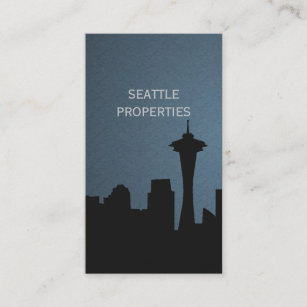 Seattle Business Cards Zazzle