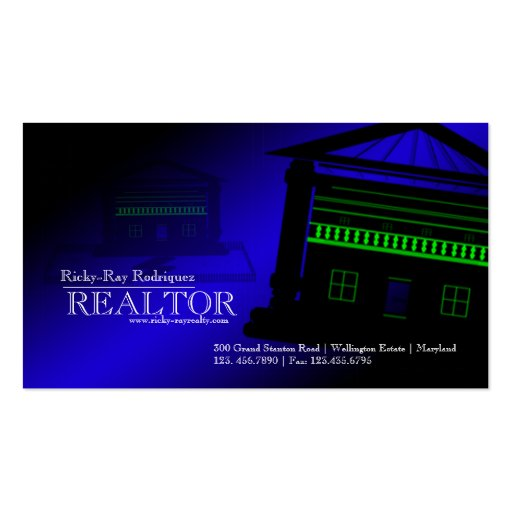Realtor Realty Real Estate Agent Business Card