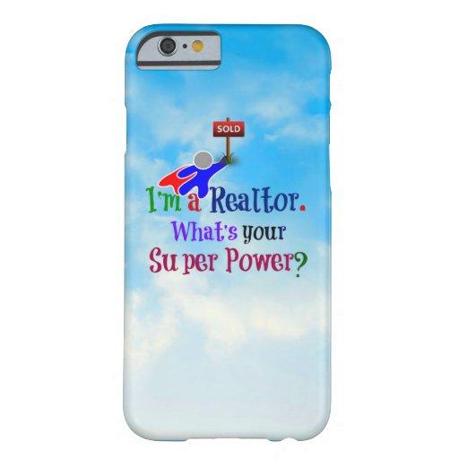 Realtor Superhero - Humor iPhone 6 Case