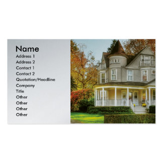 Realtor - Victorian Dream House Business Card