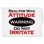 Realtor With Attitude Card