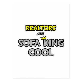 Realtors Are Sofa King Cool Post Card